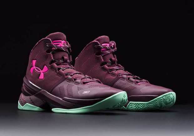 under armour curry 2 pink gold