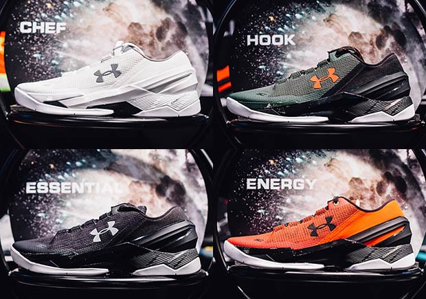 A Preview Of Upcoming Colorways Of The Under Armour Curry Two Low -  SneakerNews.com 8305e759b