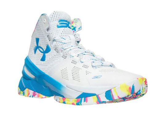 "Celebrate Steph Curry's Birthday With The Under Armour Curry Two ""Confetti"""