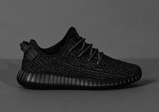 "Full Store List And Release Details For adidas YEEZY Boost 350 ""Black"""