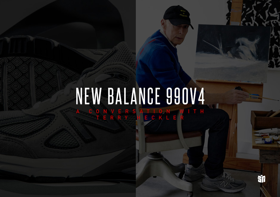 brand new 61156 d60b8 New Balance 990v4: A Conversation With Terry Heckler ...