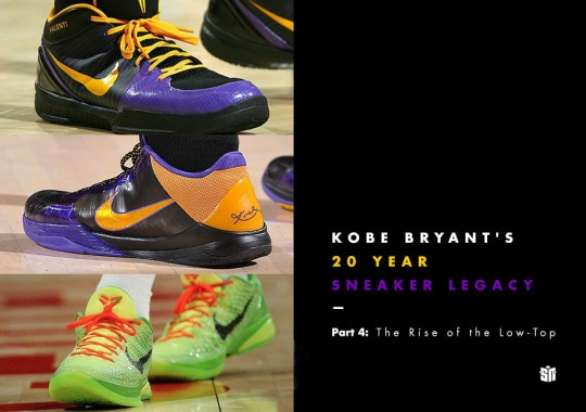 Kobe Bryant's 20 Year Sneaker Legacy – Part 4: The Rise of the Low-Top