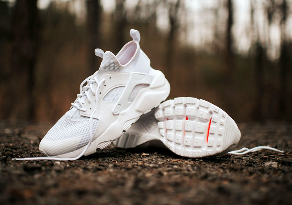 nike huarache ultra all white
