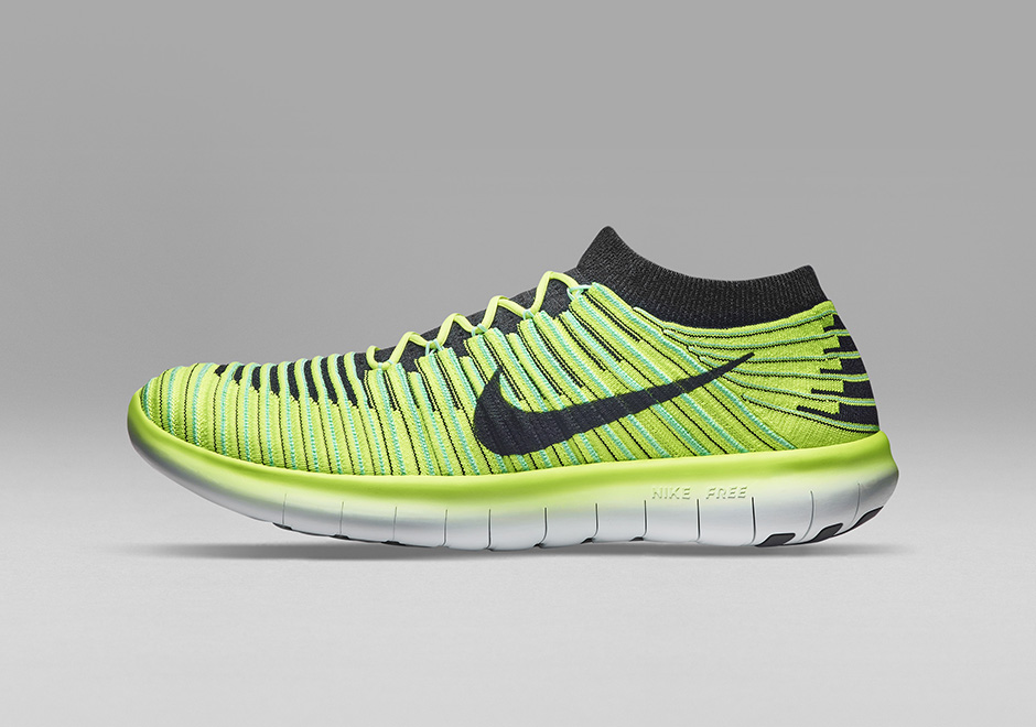 nike free technology evolves with the free motion rn flyknit. Black Bedroom Furniture Sets. Home Design Ideas