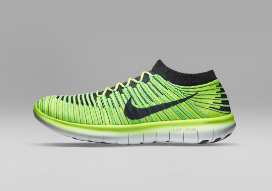 Nike Free Technology Evolves With the Free Motion RN Flyknit