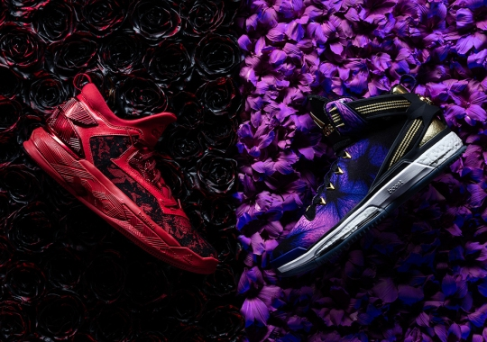 "adidas Celebrates Their ""Florist City"" Collection with D Lillard 2 & D Rose 6"
