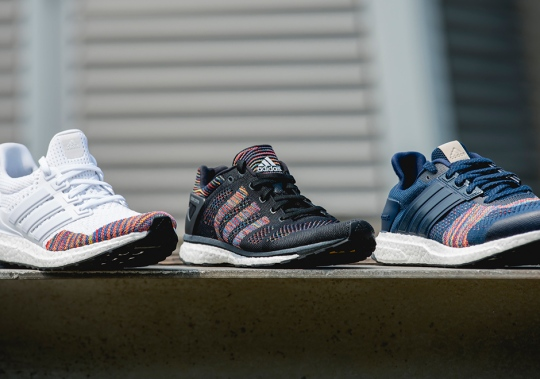 "The adidas Boost Running ""Multi-Color Primeknit"" Pack Is Incredible"