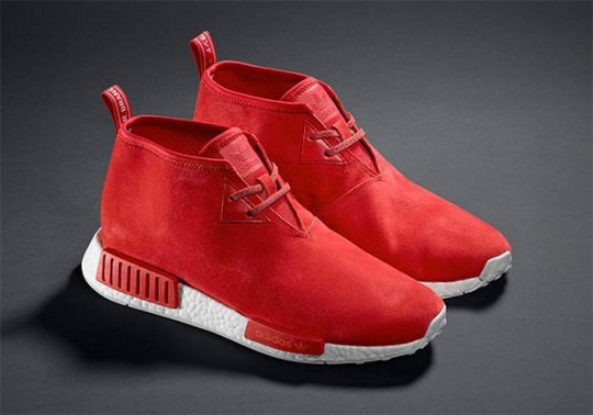 "adidas NMD Chukka ""Red Suede"""
