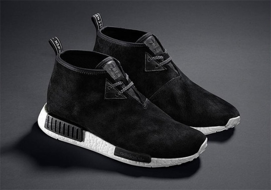 "adidas NMD Chukka ""Black Suede"" Releases March 17th"