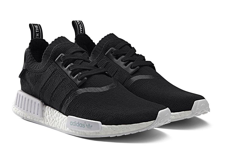 Adidas Nmd Corridore In Bianco E Nero Bianco 0BD4a
