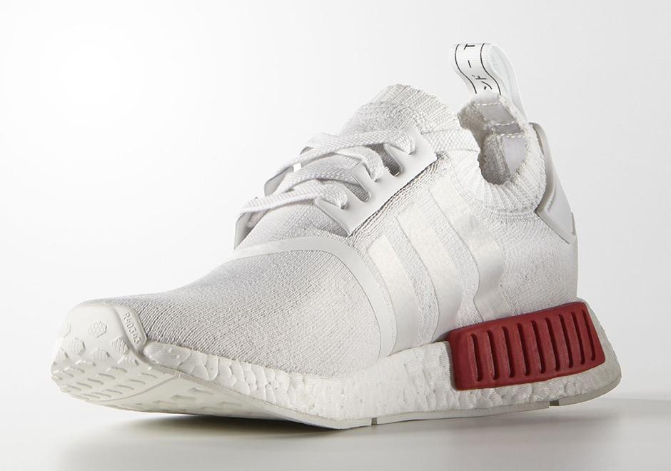adidas nmd primeknit white