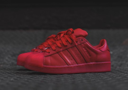 "adidas Originals Superstar ""Scarlet Red"""