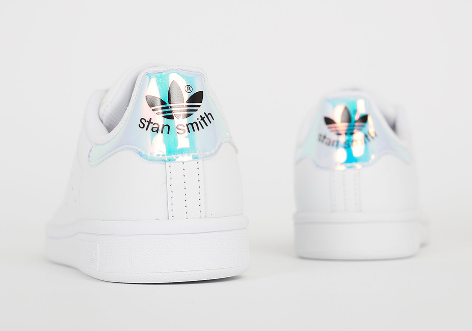 adidas stan smith iridescent heel. Black Bedroom Furniture Sets. Home Design Ideas