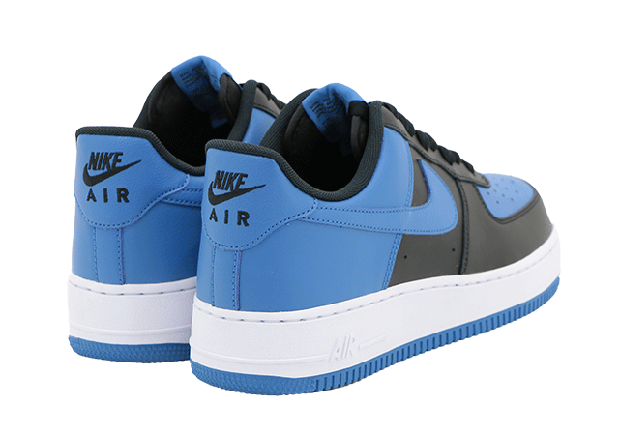 e97fe4f60d6334 Nike Air Force 1 Low. Color  Black Star Blue-White Style Code  820266-010.  show comments
