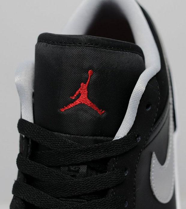 Air Jordan 1 Bajo Negro Y Rojo aU5OZ9CJt
