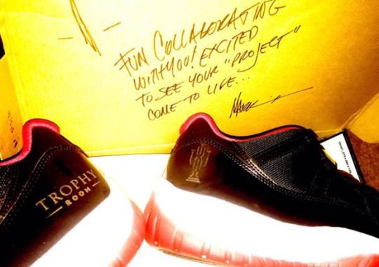Mark Smith Gave A Special Gift To Marcus Jordan's Trophy Room Sneaker Store