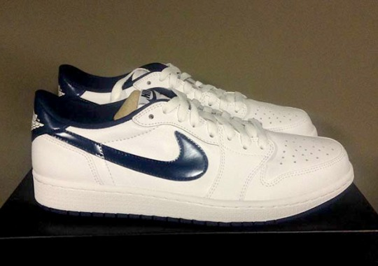 """Another Look At The Air Jordan 1 Low OG """"Midnight Navy"""""""