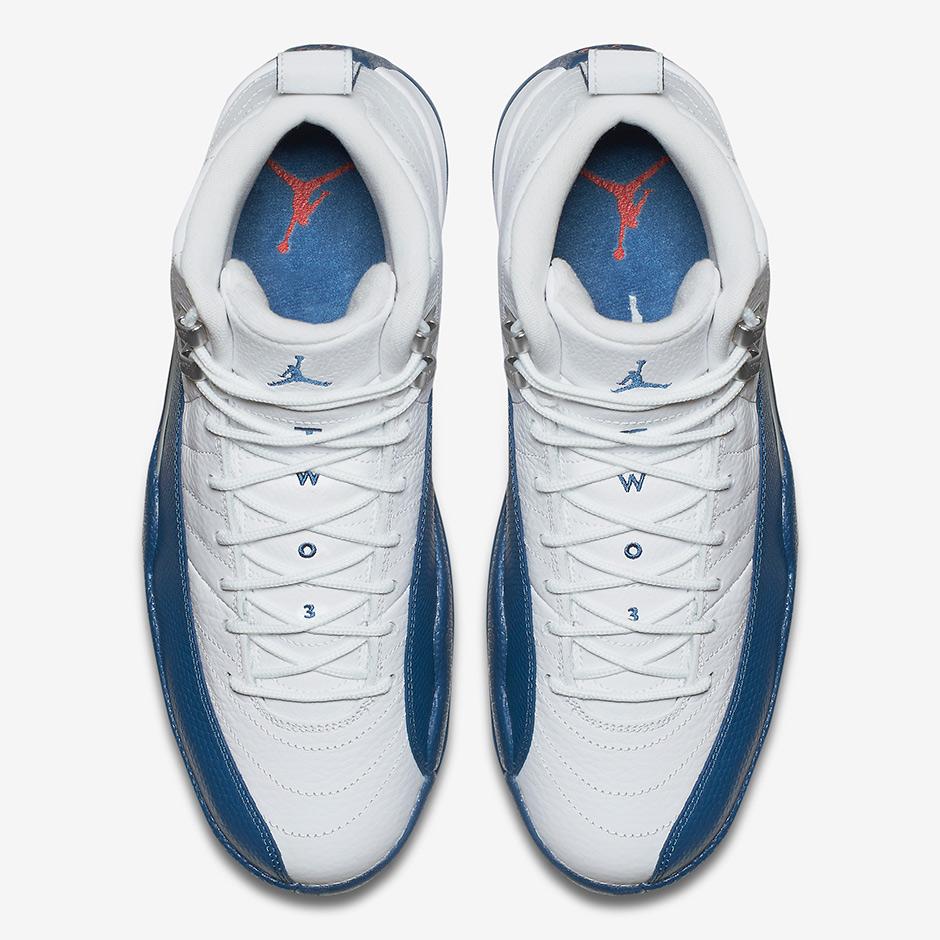 Air Jordan 12 Francés Azul Restock Cle kDxtGi