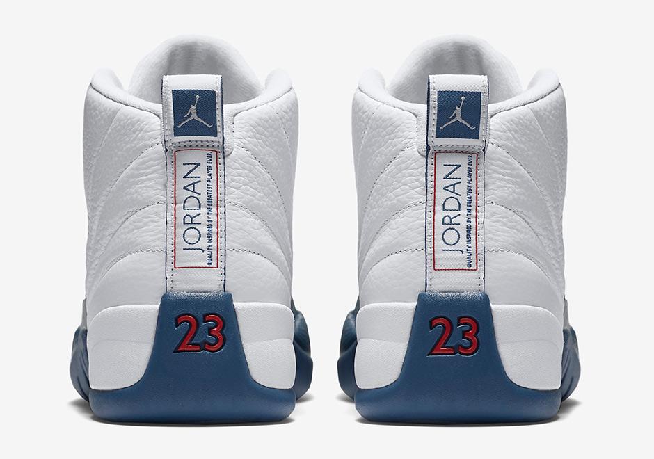 Air Jordan 12 Francés Azul Restock Cle 1bZ75Ifavj