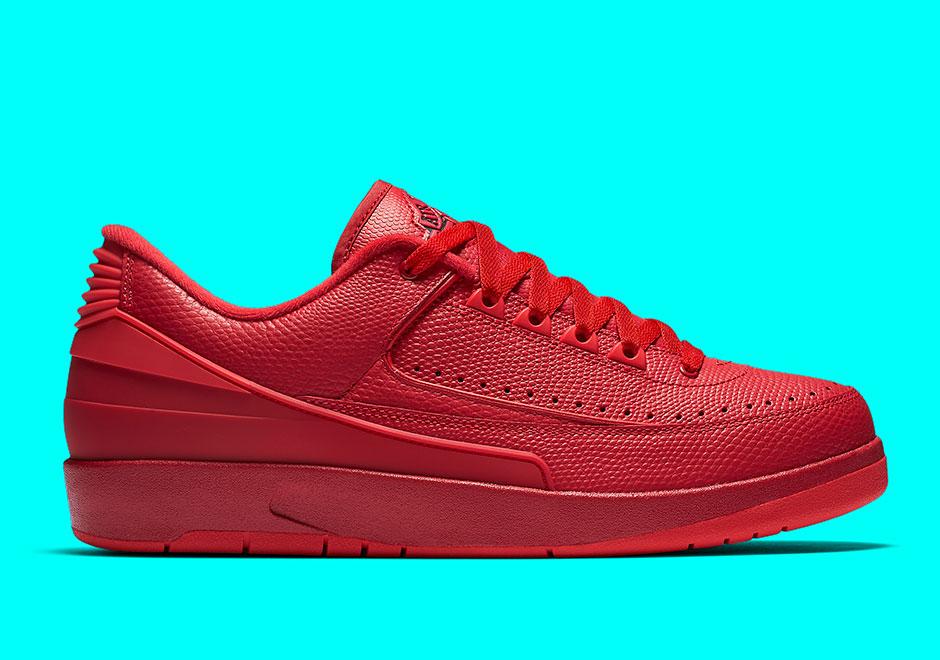 Nike Air Jordan 2 Rouge De Faible Gym