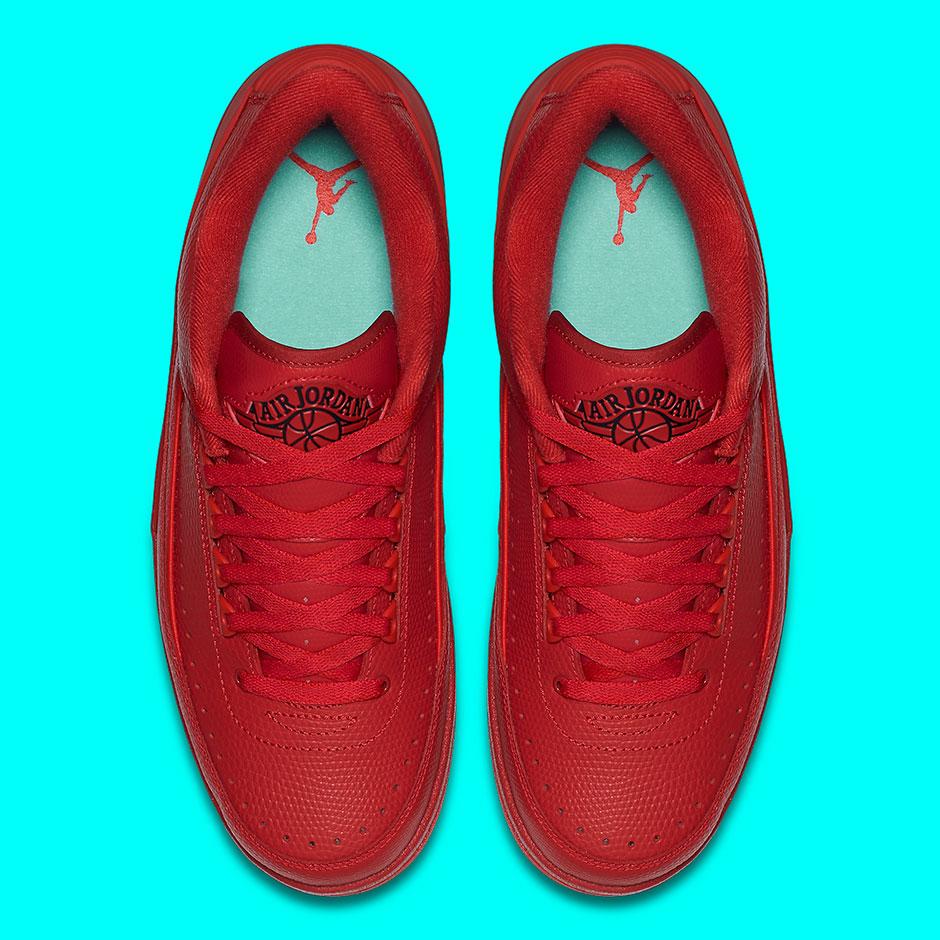 newest collection da43e 7cccd Air Jordan 2 Low. Color  Gym Red University ...