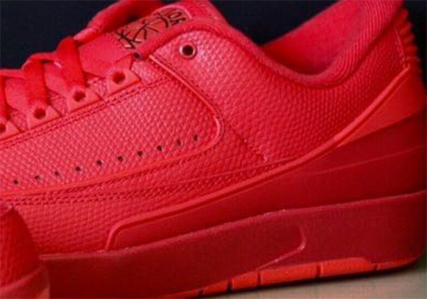 369372c2f21 Air Jordan 2 Low Red 832819-606 | SneakerNews.com