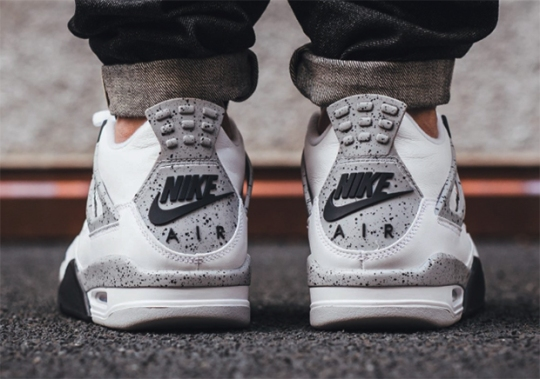"The Air Jordan 4 ""White/Cement"" To Restock At Only Three Retailers"