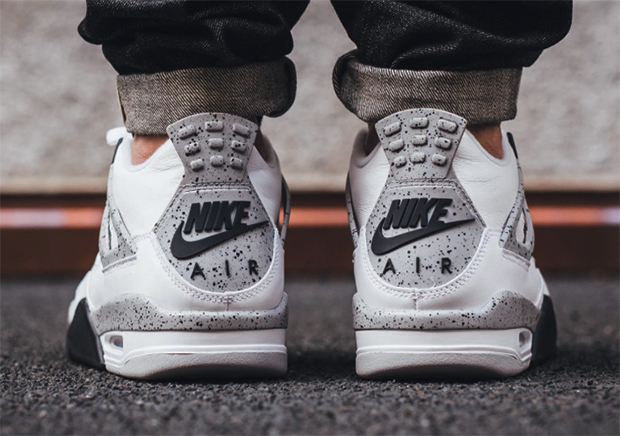 "super popular 21beb 43372 The Air Jordan 4 ""White Cement"" To Restock At Only Three Retailers"