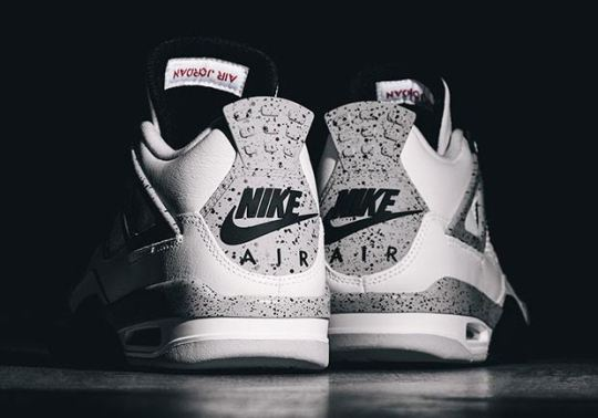 "Air Jordan 4 ""White/Cement ""Restocking"" On March 16th"