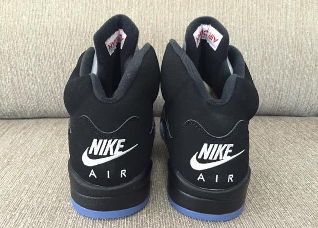 "16bf0277ee3389 Air Jordan 5 Retro ""Black Metallic"". Color  Black Fire Red-Metallic Silver- White"