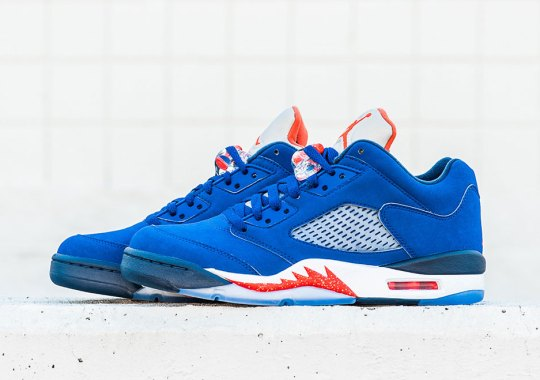 "Jordan Brand With Another Monday Release With The Air Jordan 5 Low ""Knicks"""