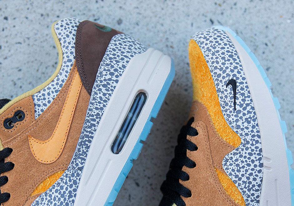 Nike Air Max 1 Qs Premium Navegador Safari fMSagwvEB