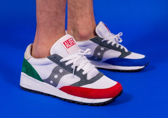ALIFE Brings The Jazz With New Saucony Collaboration