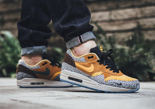 "Nike Revives The Atmos x Air Max 1 ""Safari"" With Modern Updates"