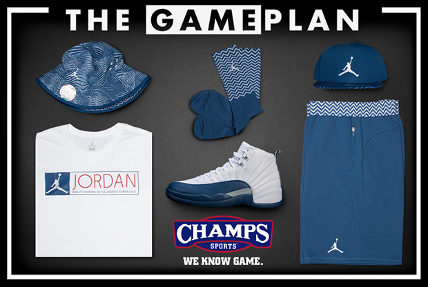 more photos 2d417 11fcd now directly from Champs Sports the Air Jordan 12 Retro will be available .