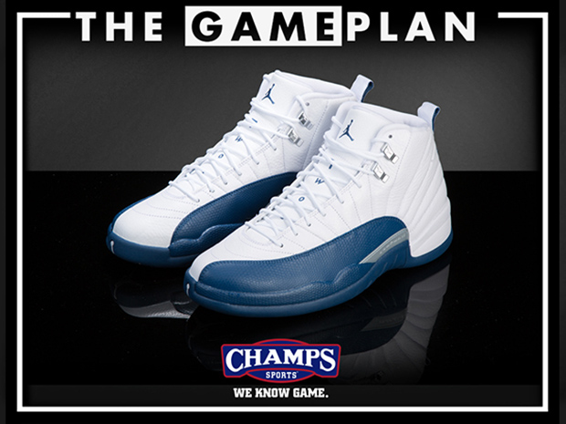 1123b7b6075f Get Ready For The Jordan French Blue Takeover With The Game Plan by Champs  Sports