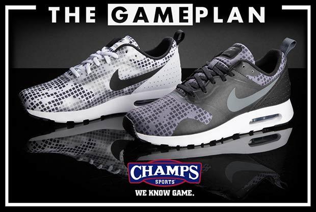 Champs Sports Nike Air Max Tavas Blanc
