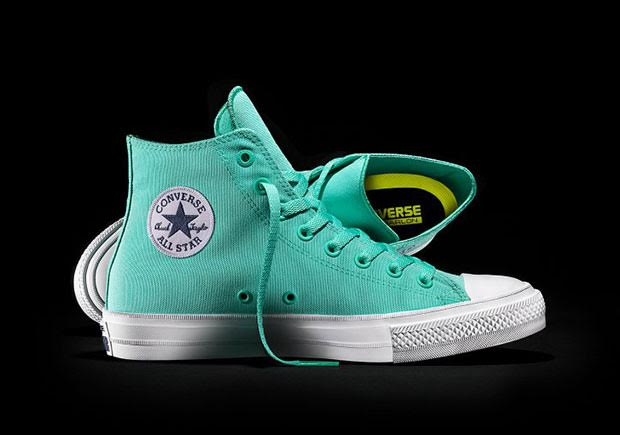 4a2c0cc61779 The Converse Chuck Taylor II is back in three vibrant options for the  upcoming Spring 2016 season