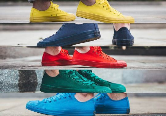 Five Tonal Colorways Of The Converse Chuck Taylor Ox for Spring