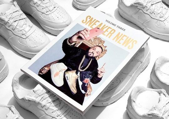 DJ Khaled Covers Sneaker News Volume Three