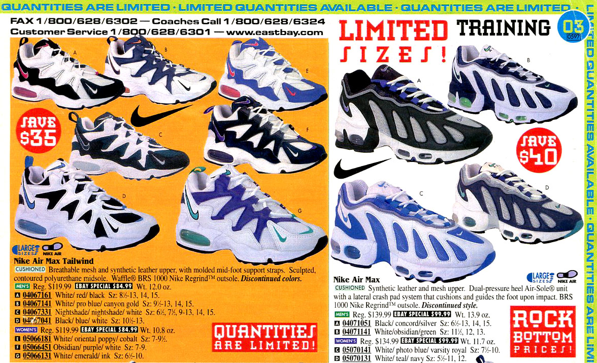 best service 244e2 d3c81 Flashback to '96: Nike's Air Max Runners - SneakerNews.com