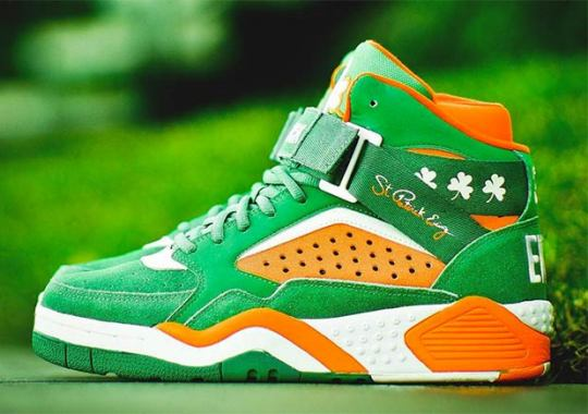 Ewing Athletics Celebrates St. Patty's Day With This Festive Focus