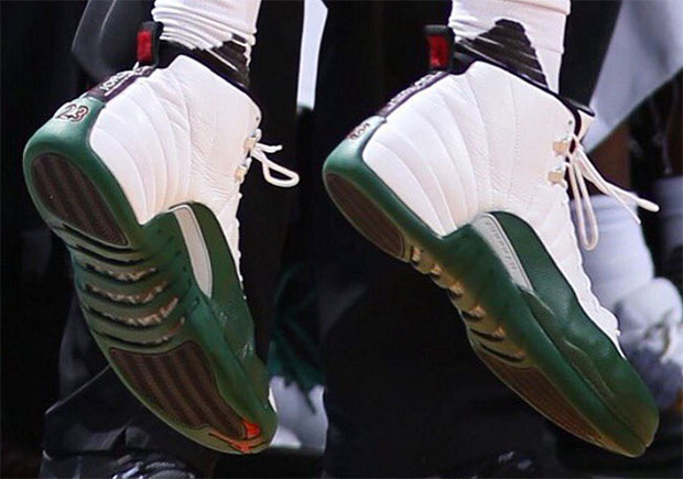 green and white 12s Shop Clothing