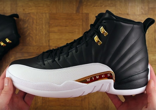 "The Air Jordan 12 ""Wings"" Will Release This Weekend"