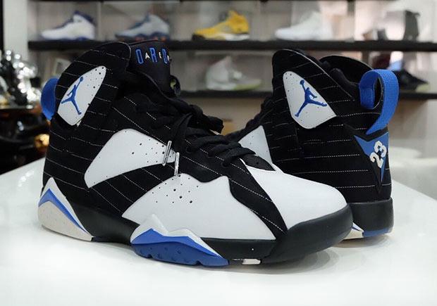 "sale retailer e24d9 bcf47 Remember This Unreleased Air Jordan 7 ""Orlando Magic"" Sample"
