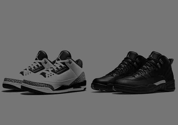 Air Jordan 3 and Air Jordan 12 Wool Releases
