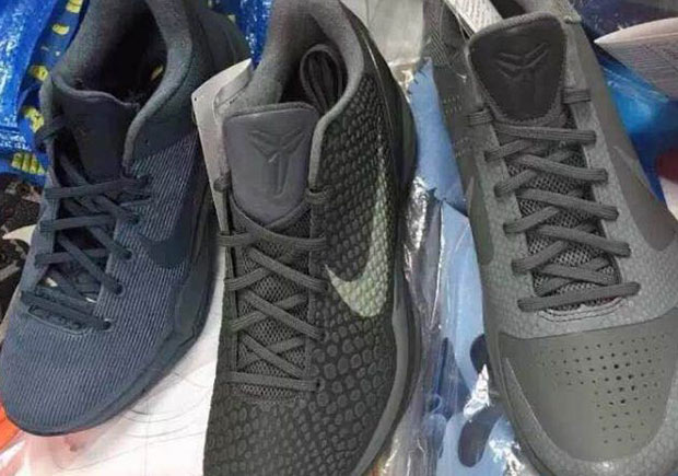 "sale retailer da5be 9280b First Look At The Nike Kobe 5, 6, and 7 From The Upcoming ""Fade To Black""  Series"