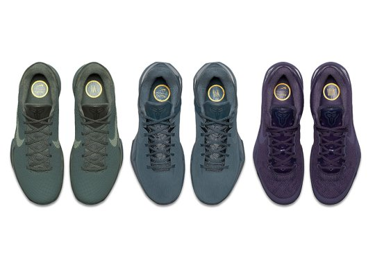 "Nike Kobe ""Black Mamba"" Pack: Continuing The Low-Cut Era"