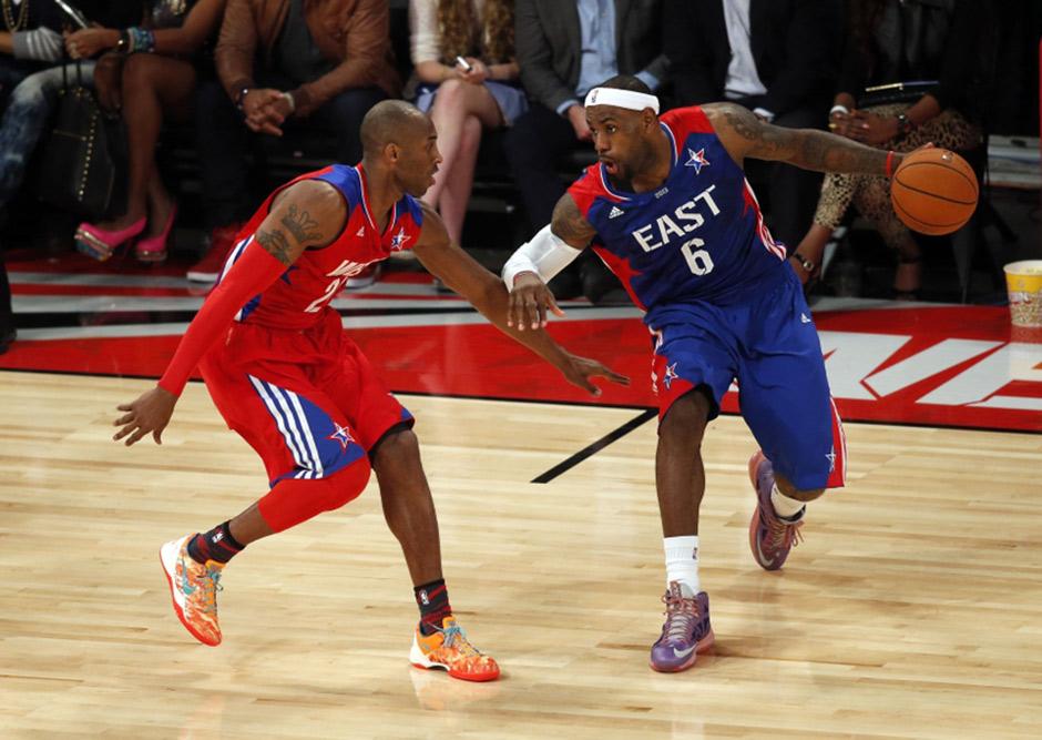 Kobe Bryant vs. LeBron James: The Greatest Rivalry That ...  Kobe Bryant vs....