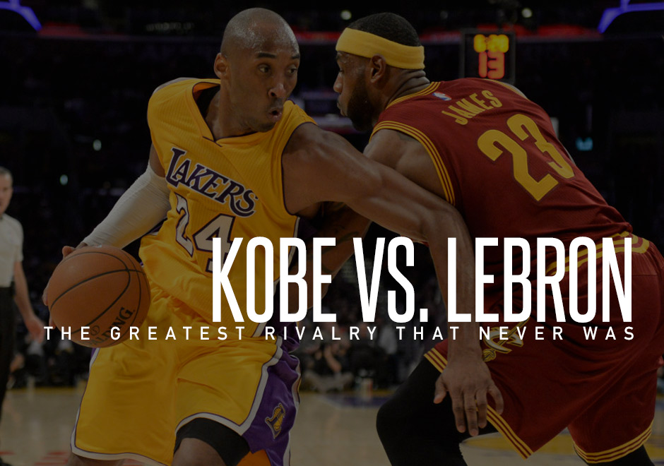 kobe vs lebron James' team prevailed, as has typically been the case in lebron-kobe matchups  bryant has a poor record against king james with just six.